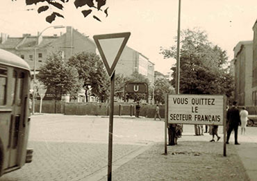Wedding Brunnenstr. U Bernauer Str. um 1963